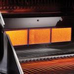Ceramic Infrared Rear Burner