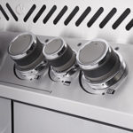Soft Touch Ergonomic Control Knobs