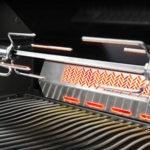 Infrared Rear Rotisserie Burner