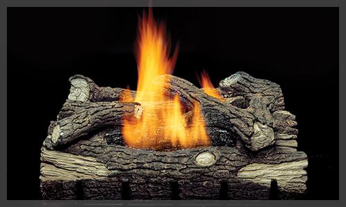 MONESSEN Mountain Oak Gas Logs