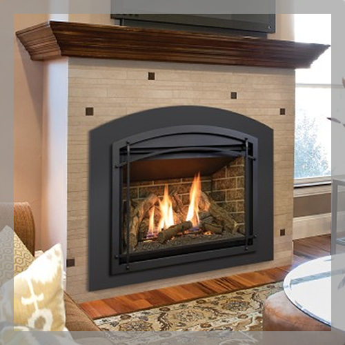 Kozy Heat Chaska 34 Direct Vent Gas Fire Fireplace