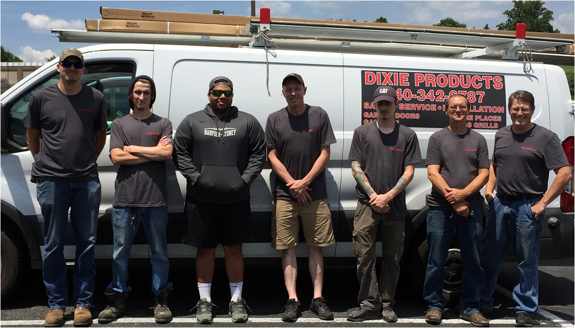 Dixie Products Service & Installation Team