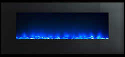 Wall Mount Blue Flame